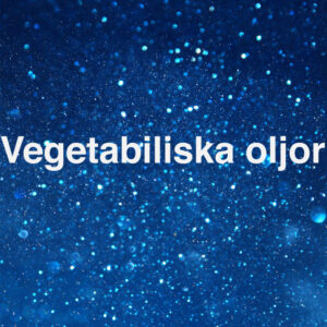 Vegetabiliska oljor